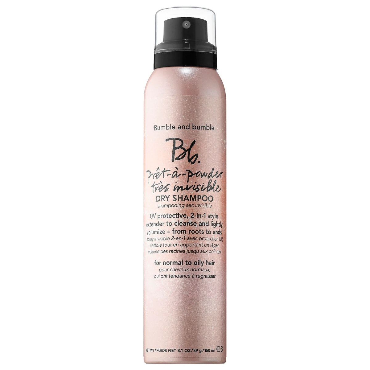 Bumble and bumble Bb. Pret-a-Powder Tres Invisible Dry Shampoo with French Pink Clay