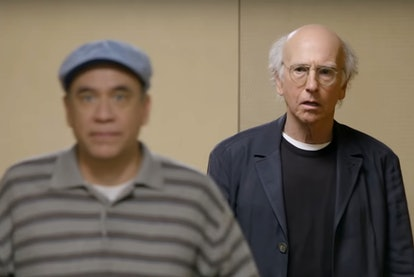 Fred Armisen and Larry David in Curb Your Enthusiasm
