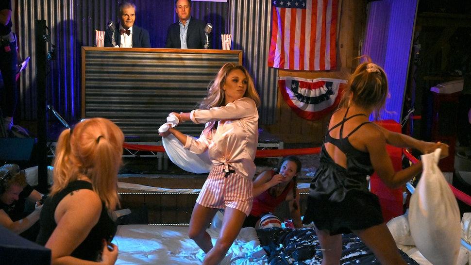 Sarah in Peter Weber's season of The Bachelor