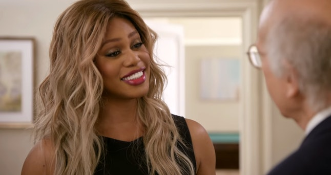 Laverne Cox in Curb Your Enthusiasm