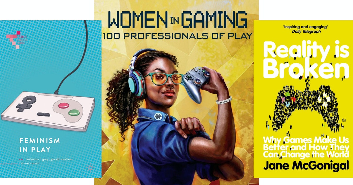 7 Empowering Books For Female Gamers Packed Full Of Advice & Analysis