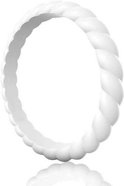 Egnaro Braided Silicone Ring