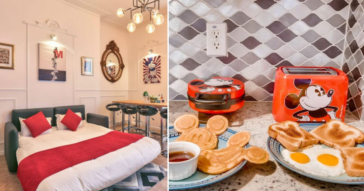 6 Mickey Mouse-Themed Airbnbs That Will Have You Feeling Nostalgic