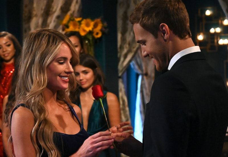Victoria P. and Peter Weber on The Bachelor