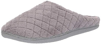 Dearfoams Quilted Microfiber Terry Clog Slipper