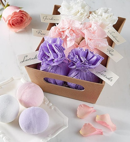 Floral Bath Bomb Gift Set