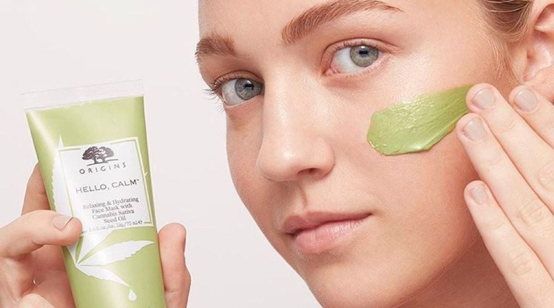 Give someone a slice of zen with relaxing Valentine's Day beauty gifts, like a sativa-infused face mask.