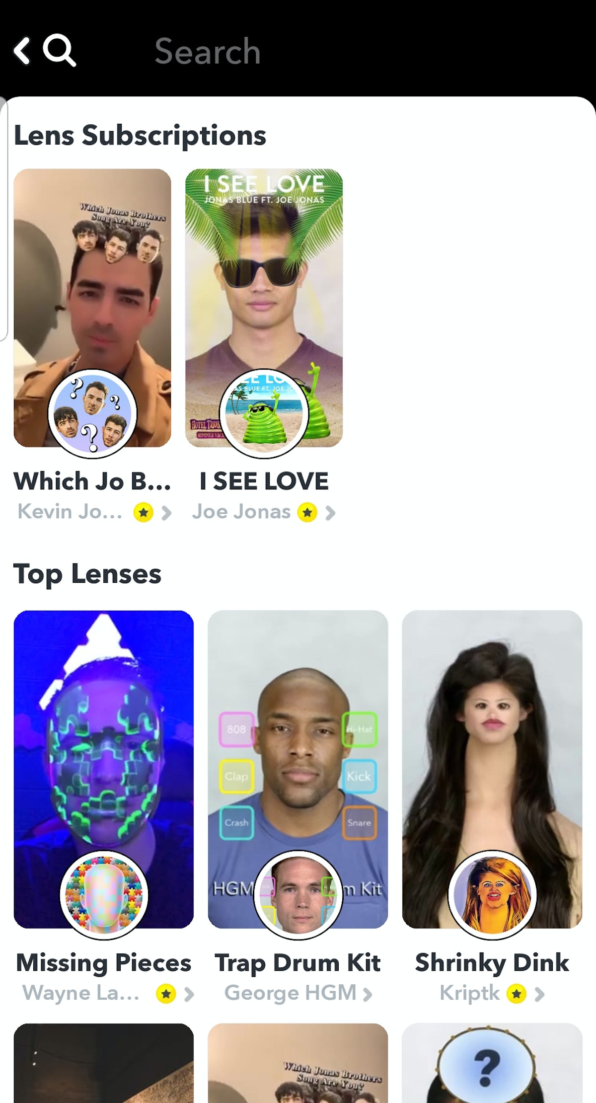Does Snapchat Have AR Predictor Filters like Instagram does? They have a lot of the same sort of pop...