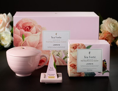 Tea Forte Jardin Gift Set