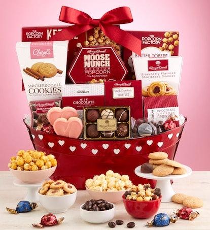 True Love Valentine Gift Basket-Deluxe