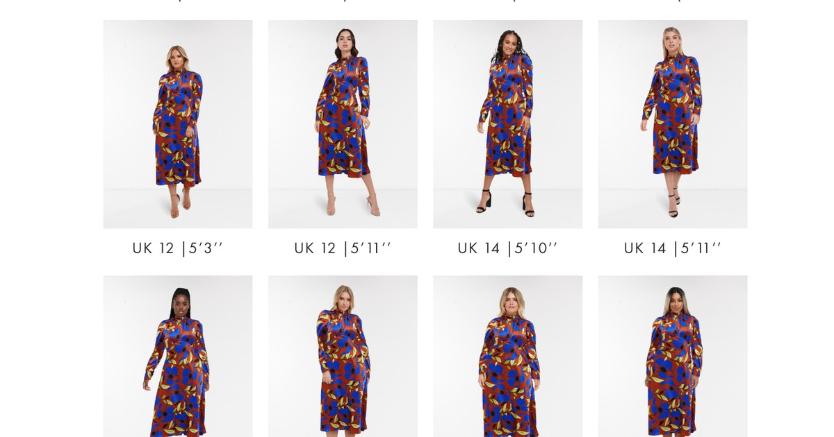 ASOS' New 'See My Fit' Tool Lets You View Clothes On 16 Different Body Shapes