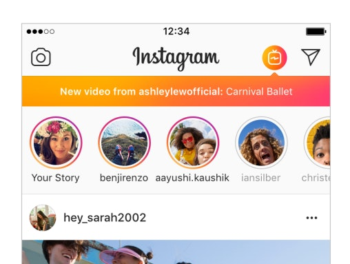 Instagram kills off the IGTV homepage button