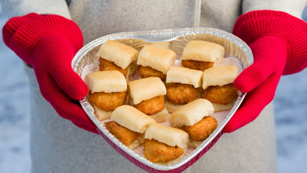 Spread the love with Chick-Fil-A's Valentine's Day 2020 Nugget Tray.