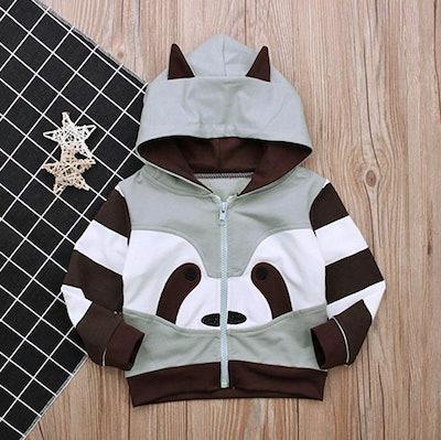 Dragon Honor Toddler Raccoon Hoodie