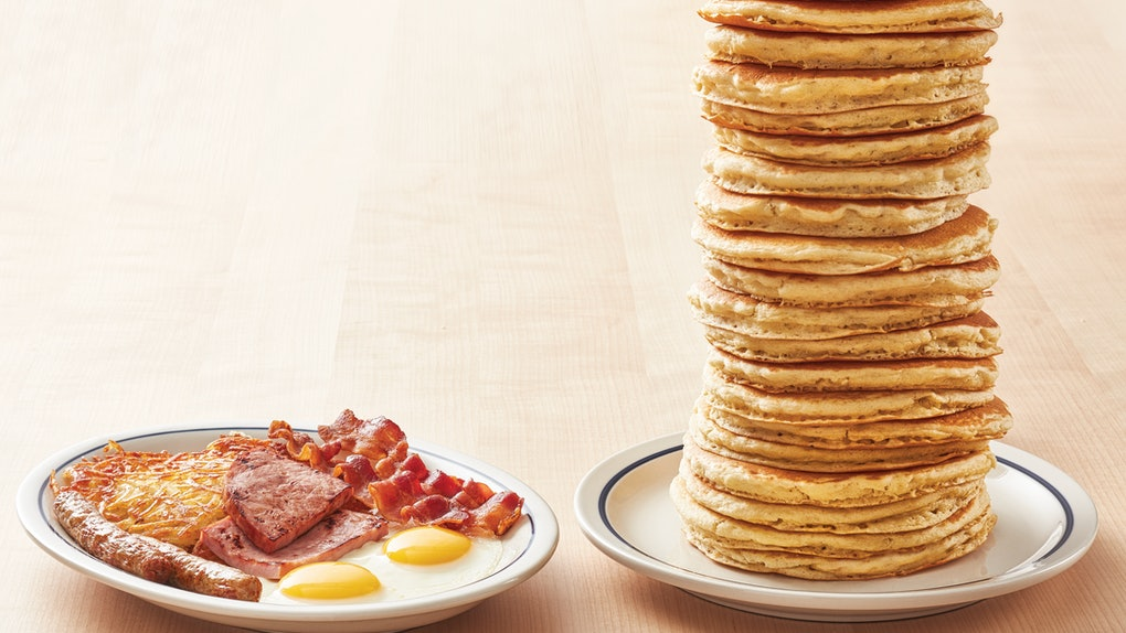IHOP's All You Can Eat Pancakes For 2020 from now through the month of March, so get stacking.