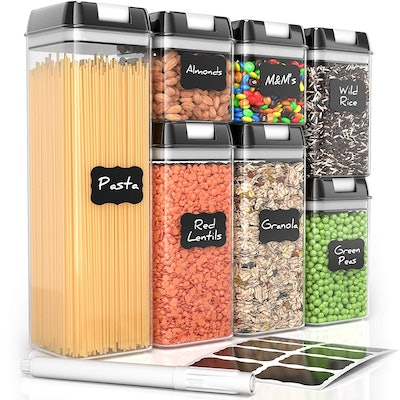 Airtight Food Storage Containers (7 Pieces)