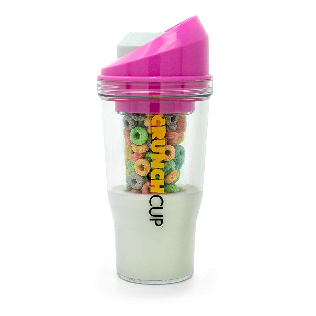 The CrunchCup Portable Cereal Cup