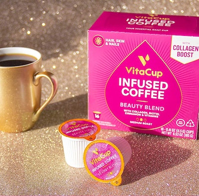 VitaCup Beauty Blend Coffee Pods (16-Pack)