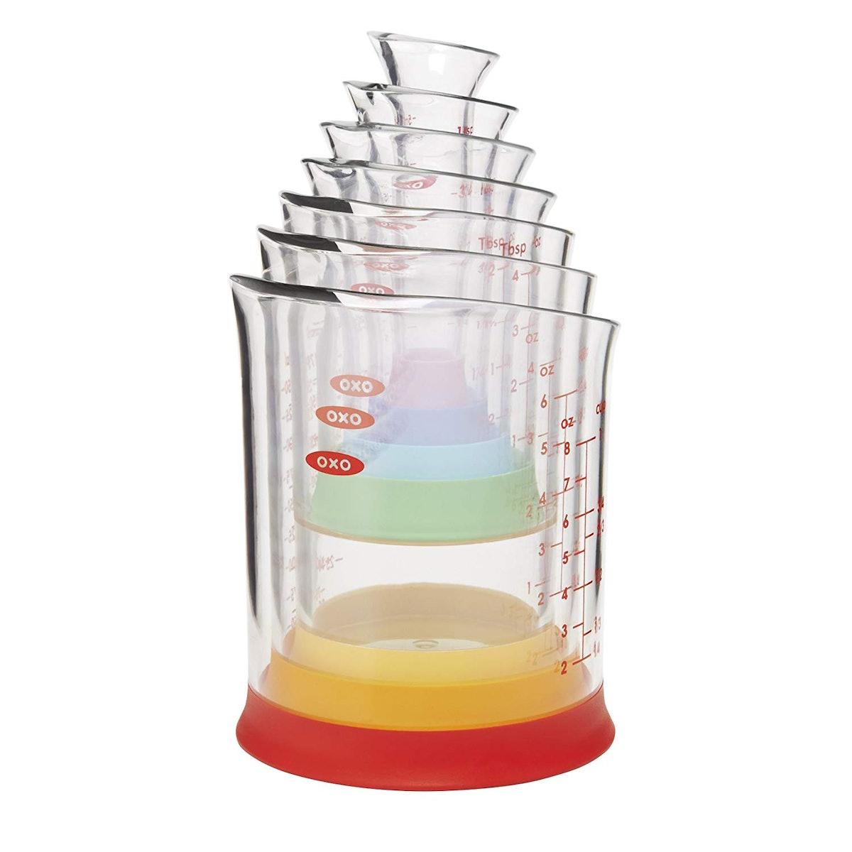 OXO Nesting Measurement Beakers (7-Piece Set)