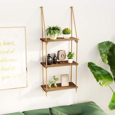 BAMFOX Hanging Wall Shelves