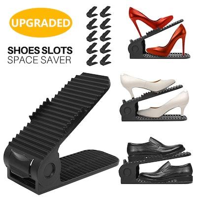 Shoe Slots Organizer (10 Pieces)