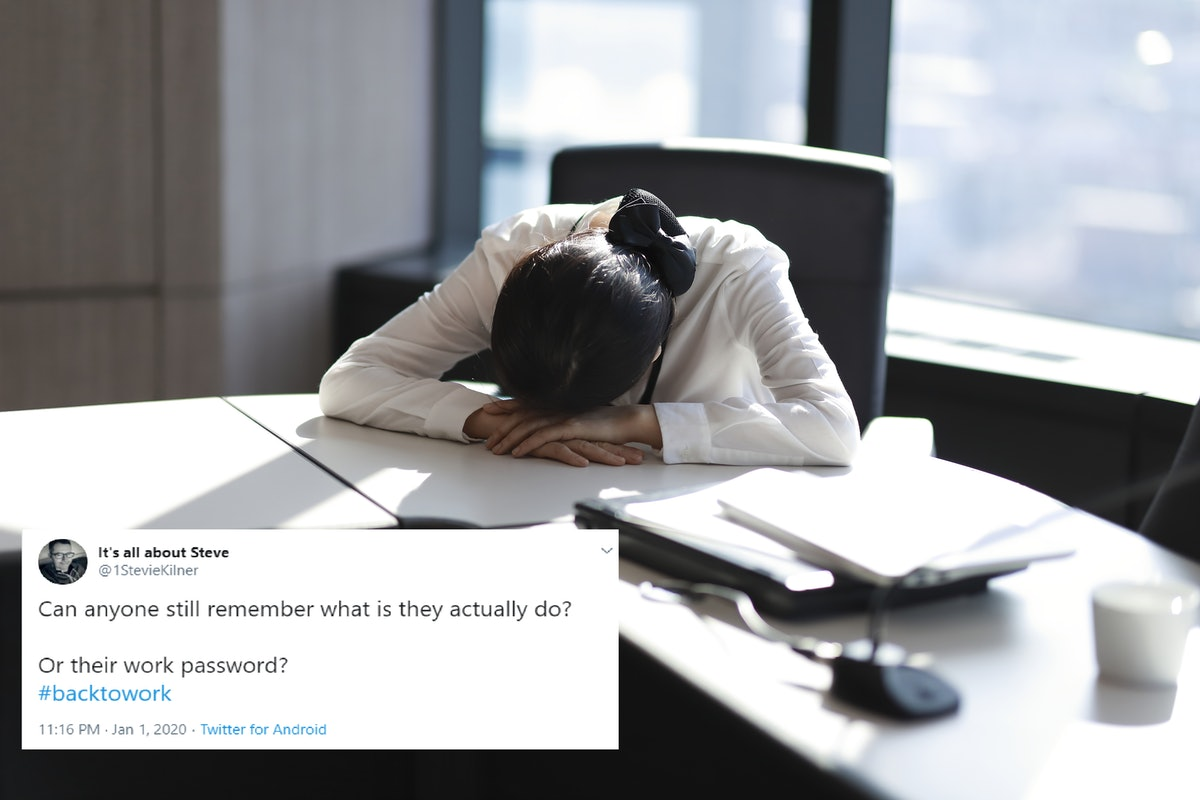 Tweets About Going Back To Work After The Holidays are going to make you feel very seen.