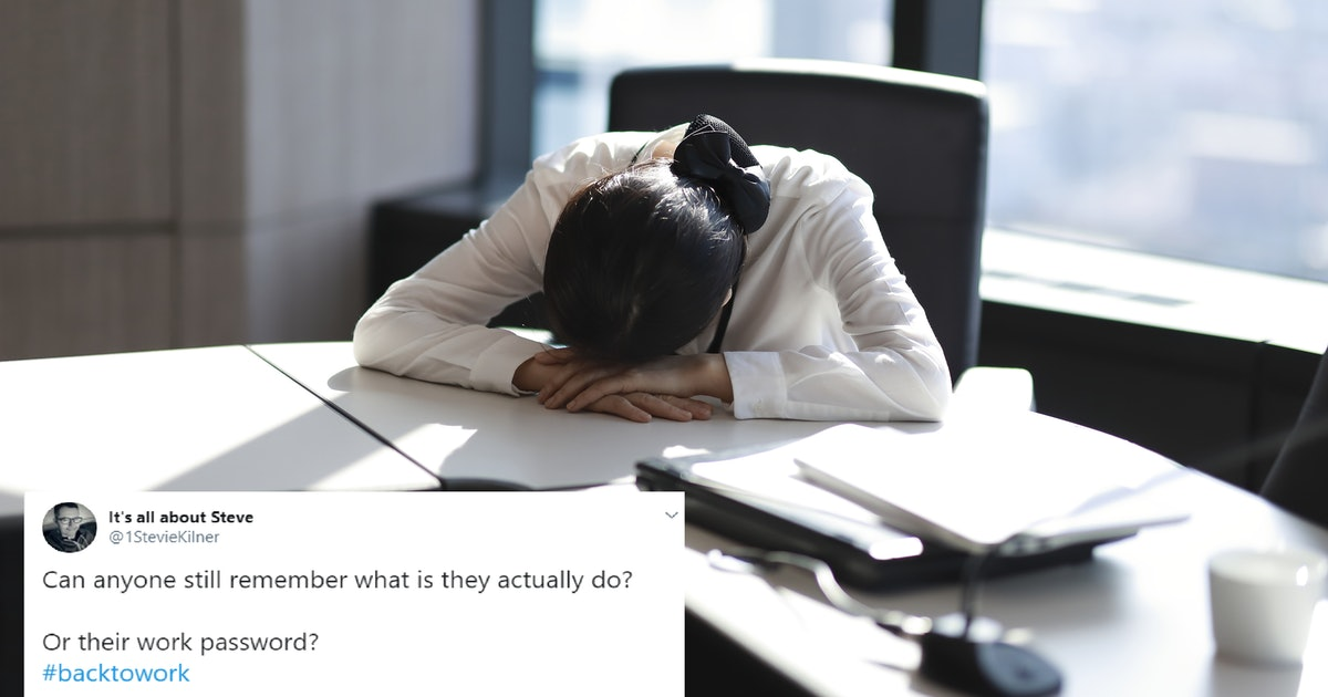 These Tweets About Going Back To Work After The Holidays Are So Relatable