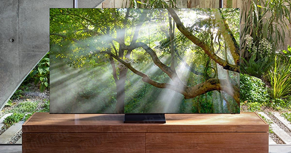 Samsung's no-bezel TV has leaked and this is what it looks like