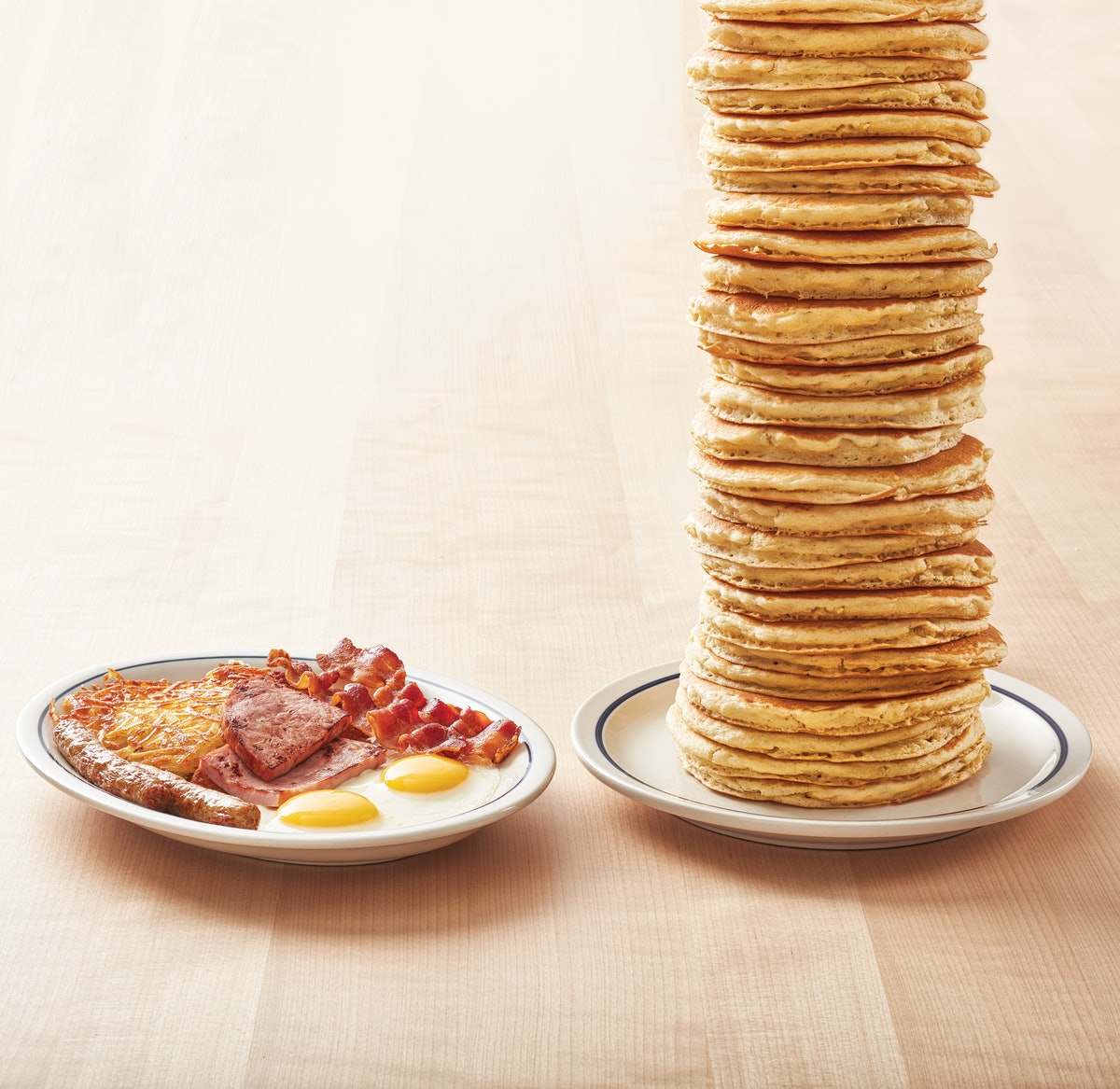 IHOP's All You Can Eat Pancakes For 2020 will save you cash, withot skimping on the portions.