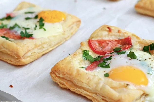 Brunch just got a lot better with these egg tartlets