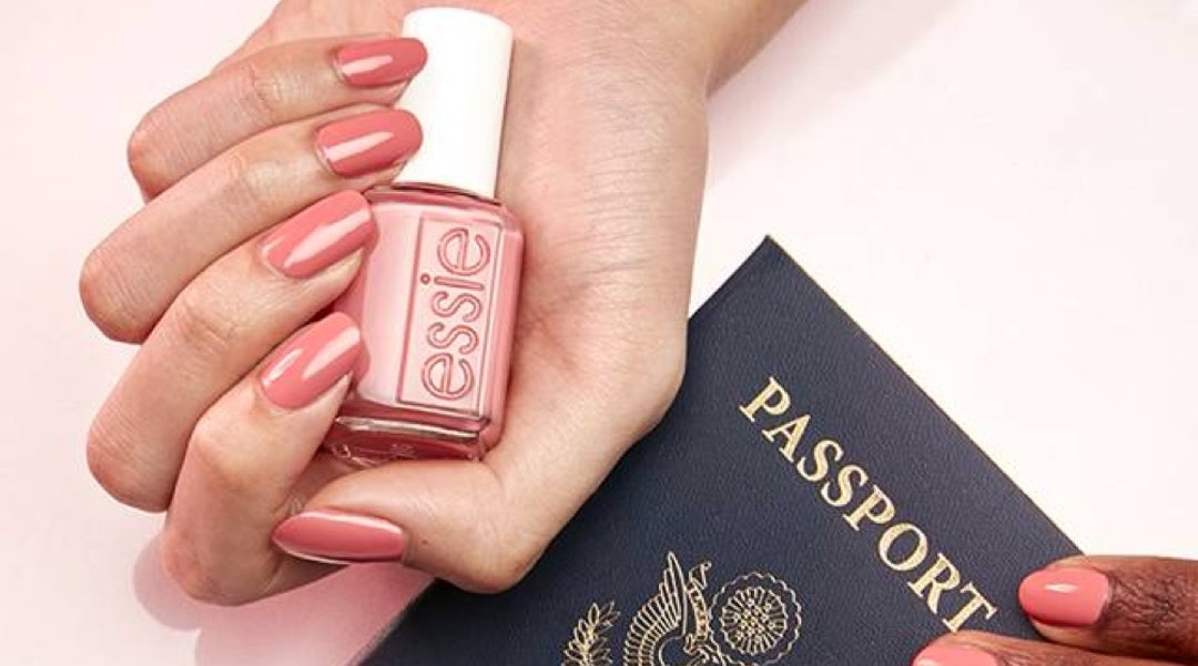 Essie's new Flying Solo nail polish collection is full of pastels and brights that mimic a multicolored sunset.