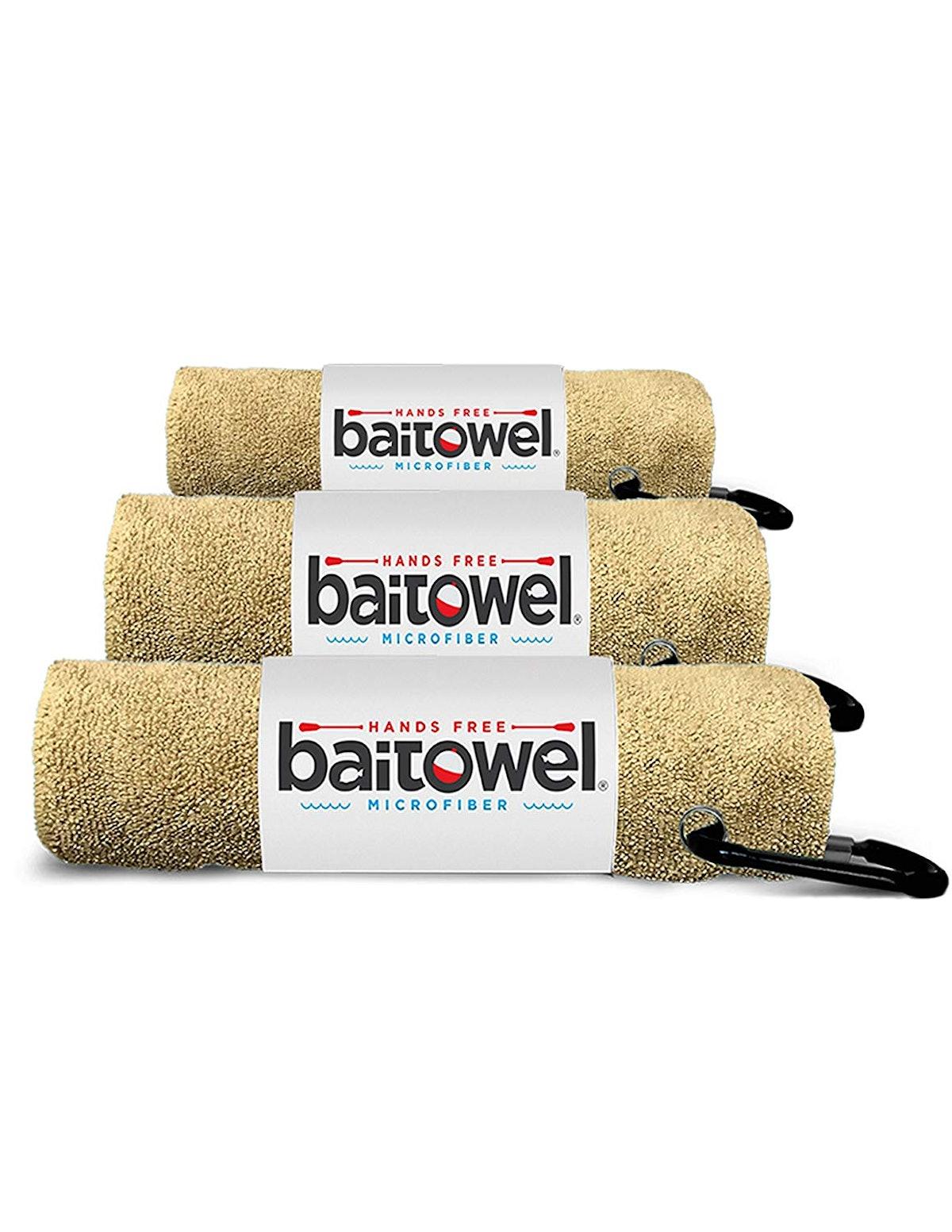 Bait Towel Microfiber Towel (3-Pack)