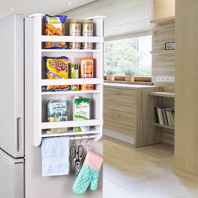Refrigerator Side Storage Shelf