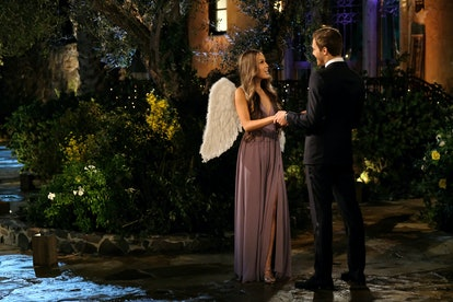 The Bachelor's Eunice wore angel wings.