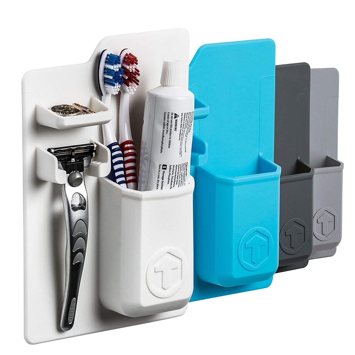 Silicone Waterproof Toothbrush Holder/razor Holder