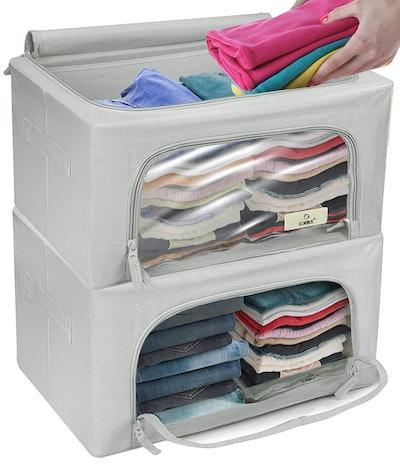 Sorbus Storage Bins Boxes (2-Pack)