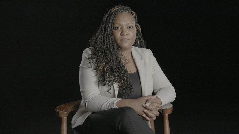 Tiffany Hawkins in Surviving R. Kelly Part II: The Reckoning airing across three nights, beginning January 2 at 9pm ET/PT.