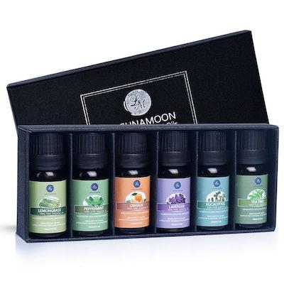 Lagunamoon Premium Essential Oils (Pack of 6)