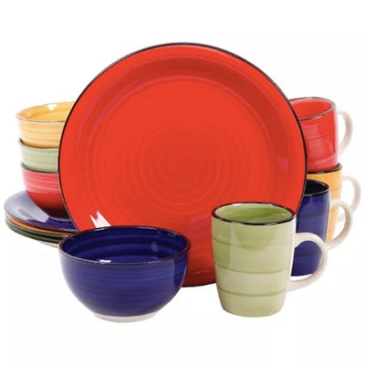 Gibson Color Vibes 12pc Dinnerware Set