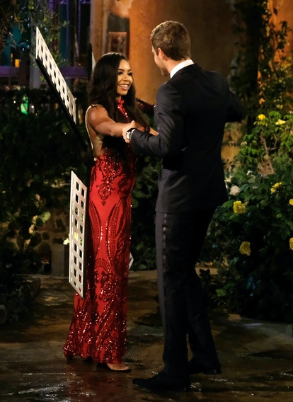 The Bachelor's Deandra made a reference to Peter Weber and the infamous windmill.