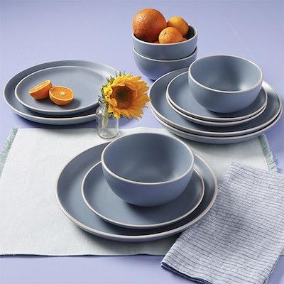 Better Homes & Gardens Zuri Matte 12-Piece Dinnerware Set