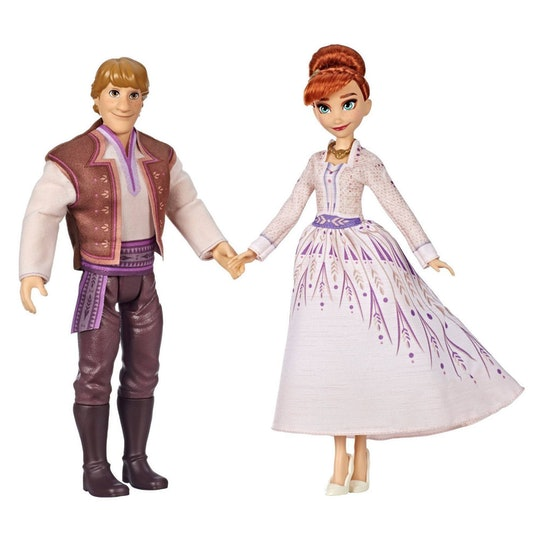 anna and kristoff dolls from frozen 2