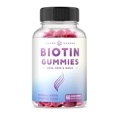 NutraChamps Biotin Gummies