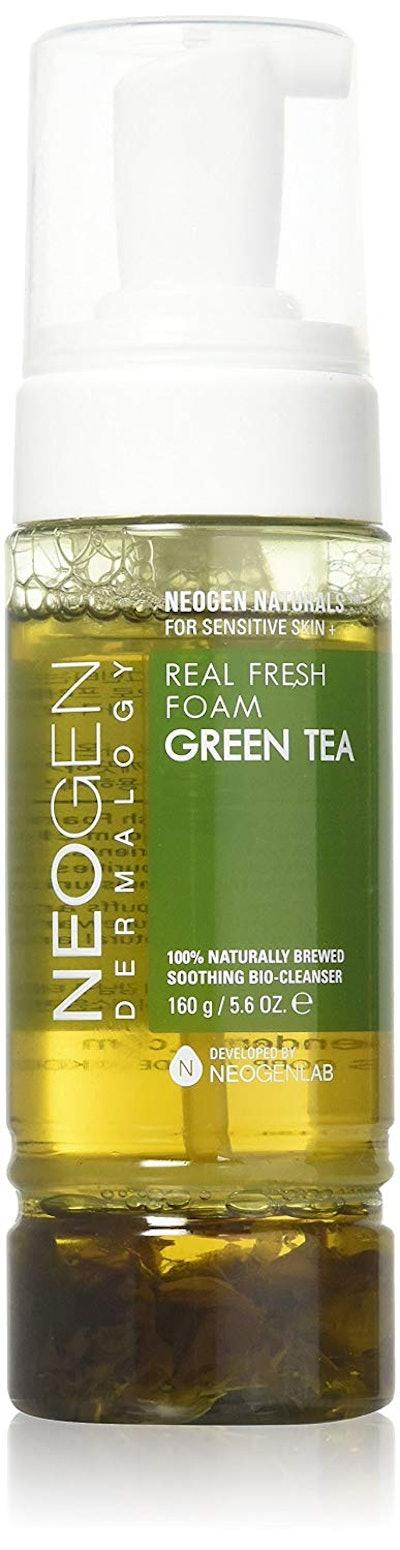 NEOGEN DERMALOGY REAL FRESH FOAM CLEANSER GREEN TEA 5.6 oz / 160g