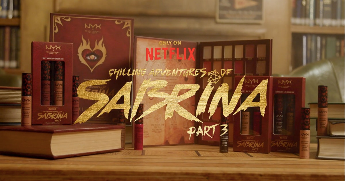 NYX x Chilling Adventures Of Sabrina Will Have You Feeling Witchy