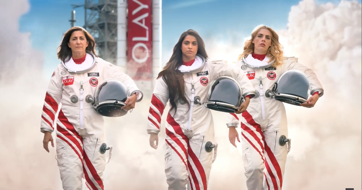 Olay's Women In Space Super Bowl Ad Will Actually Help Send Women To Space