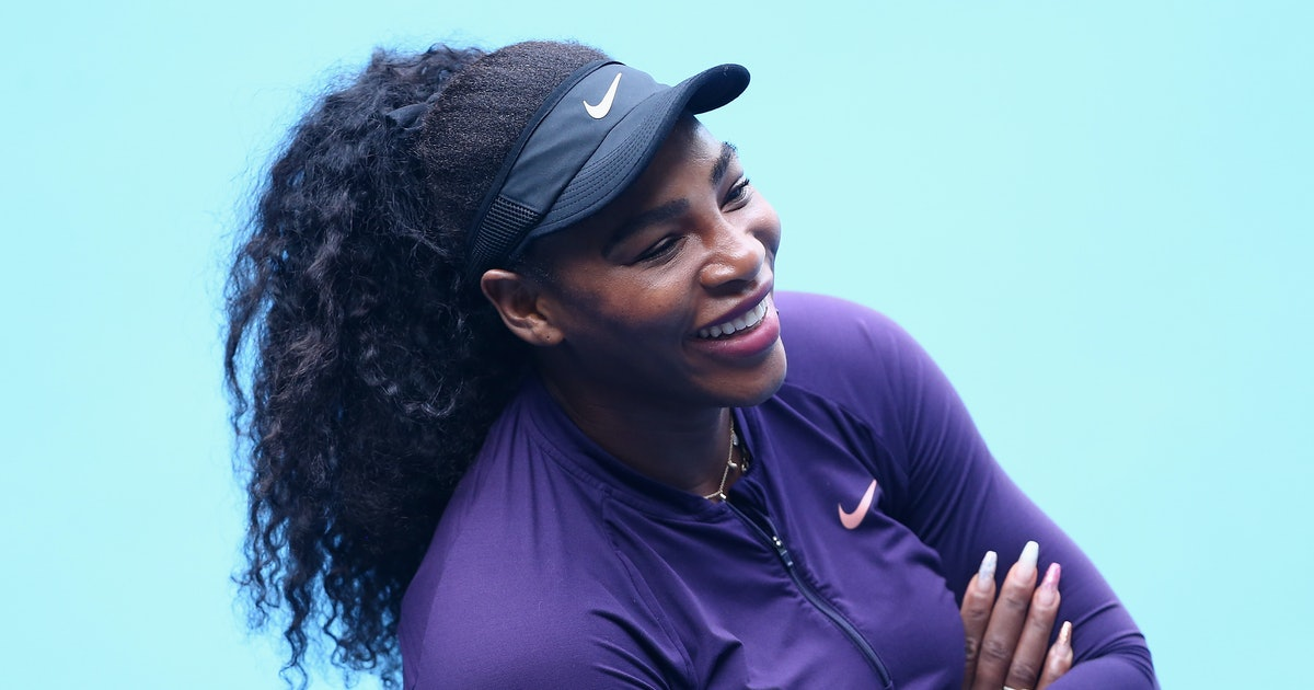 Serena Williams' Reply To A Question About Meghan & Harry's 2020 Plans Is Perfect