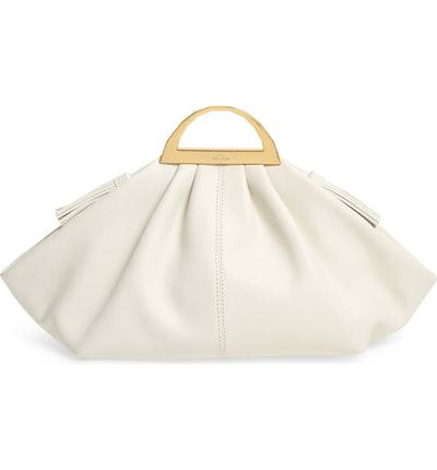 Gabi Leather Top Handle Bag