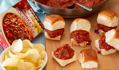 These sloppy joe sliders are the ultimate Super Bowl dish.