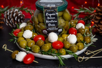 Olives are a great Super Bowl snack.